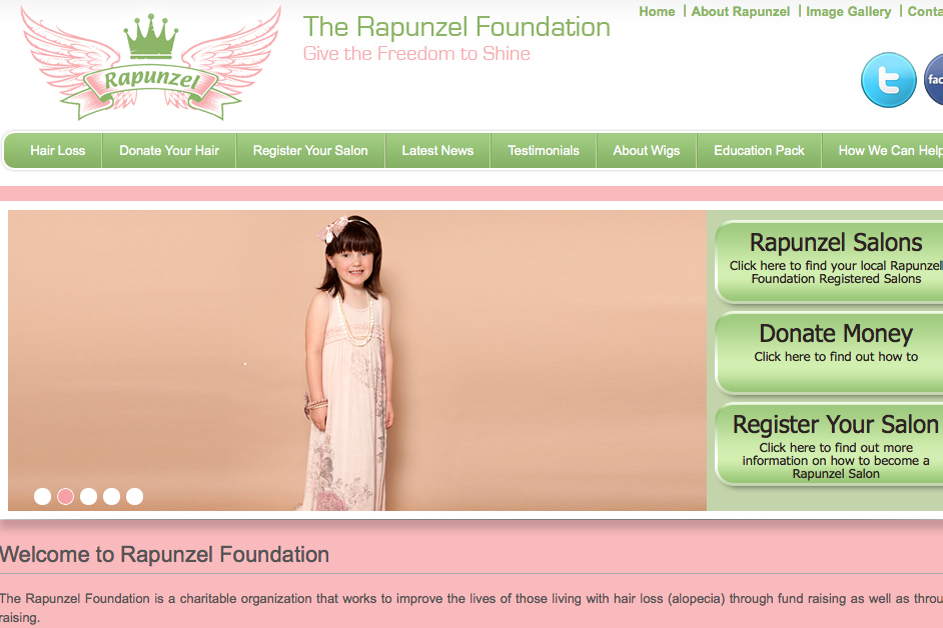 Aquaweb - Rapunzel Foundation